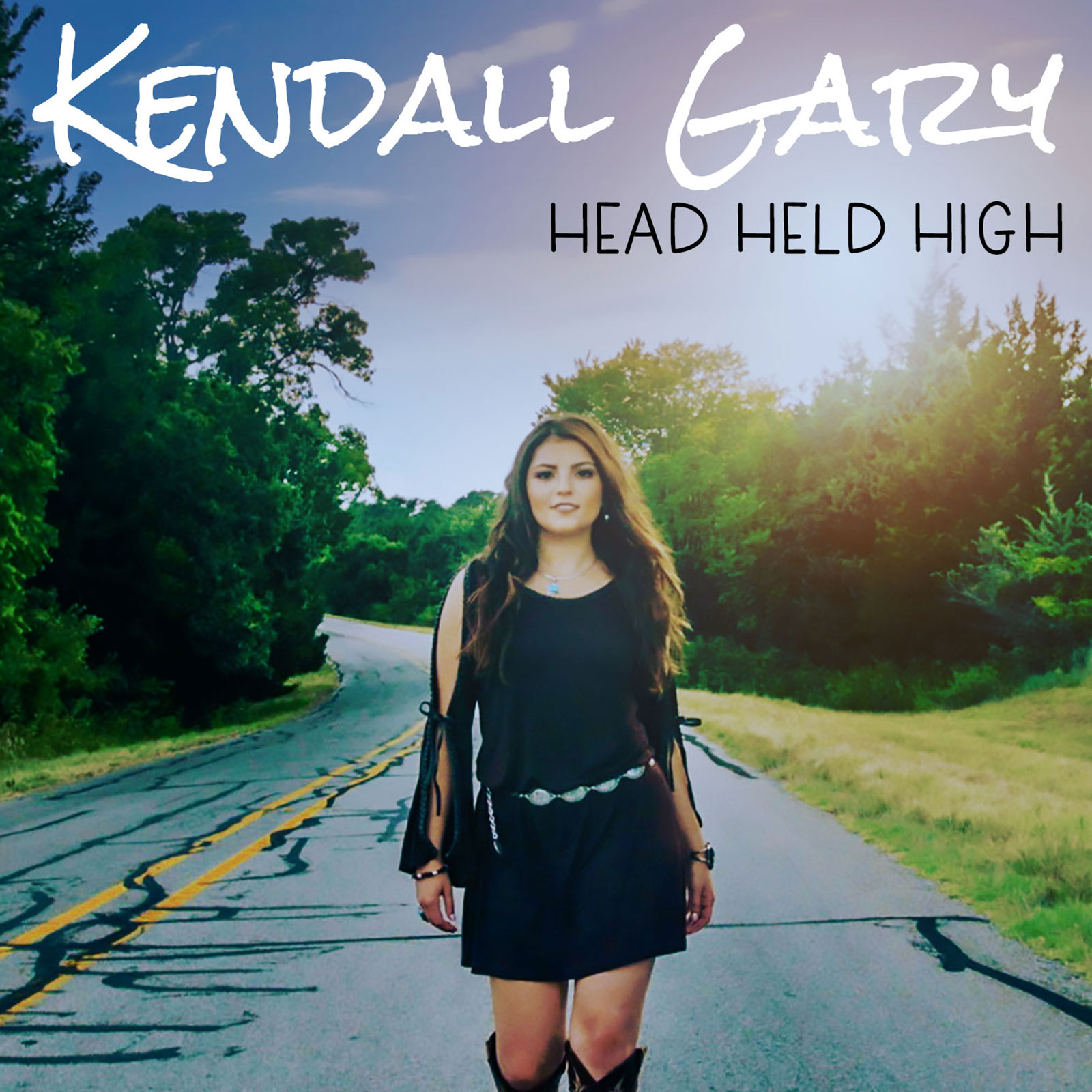 Kendall Gary album cover for Head Held High